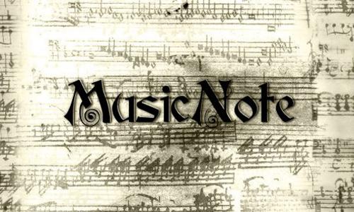 Music Note<br /> http://shadymedusa-stock.deviantart.com/art/Music-Note-63688545