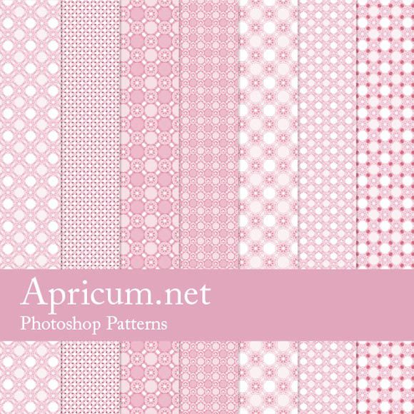 粉红色的photoshop图案<br /> http://www.apricum.net/2012/03/13/pink-photoshop-patterns/