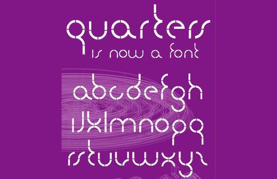 Quarters font<br /> http://www.fontspace.com/iamsla/quarters