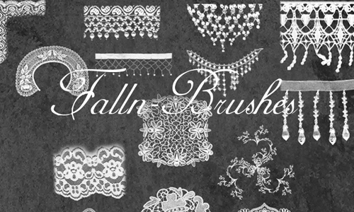 Mesh Lace and Fringe Brushes<br /> http://falln-stock.deviantart.com/art/Mesh-Lace-and-Fringe-Brushes-92731178