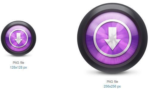 下载图标<br /> http://www.softicons.com/free-icons/application-icons/itunes-icons-by-thiago-silva/downloads-icon