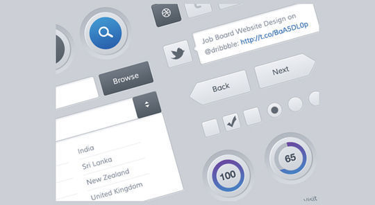 Mobile and Web UI Kit<br /> http://dribbble.com/shots/631200-Freebies-Mobile-and-Web-UI-Kit