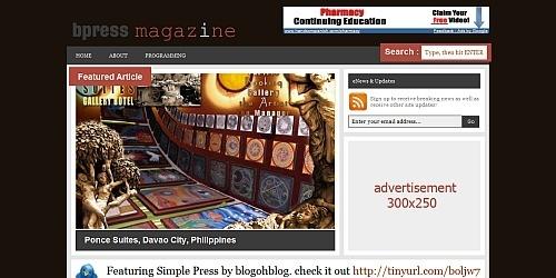 2009年5月发布的30多个wordpress主题