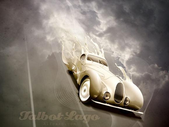 Luxury Classic Car<br /> http://alfoart.com/luxury_classic_car_1.html