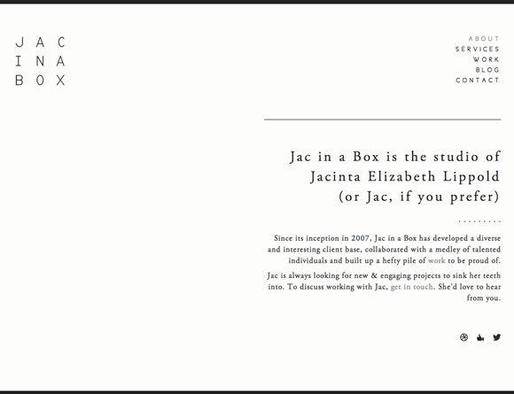 Jac in a Box<br /> http://jacinabox.com.au/