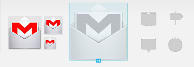 Official Android 4.0 Action Bar Icons (PNG & AI)<br /> http://developer.android.com/design/style/iconography.html