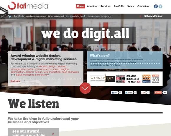 Fat Media<br /> http://www.fatmedia.co.uk/