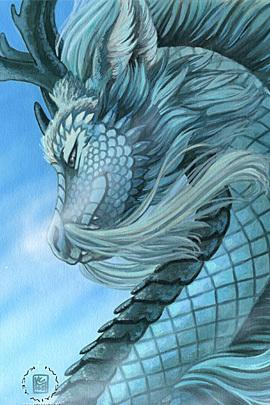 30张令人印象深刻的龙插画
