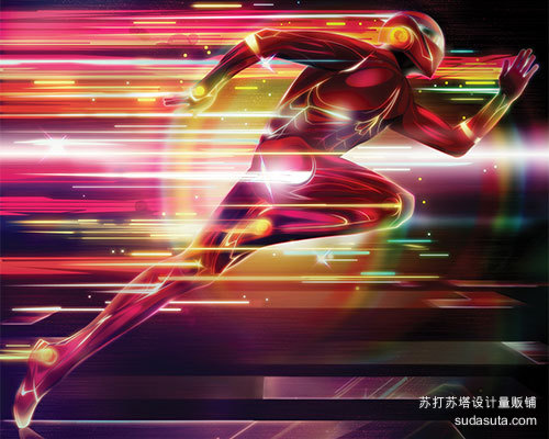创建一个发光的超级英雄<br /> http://www.digitalartsonline.co.uk/tutorials/photoshop/create-glowing-superhero/#1