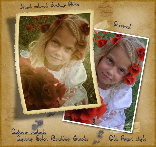 Hand-colored Vintage Photo ATN<br /> http://mutato-nomine.deviantart.com/art/Hand-colored-Vintage-Photo-ATN-37412305