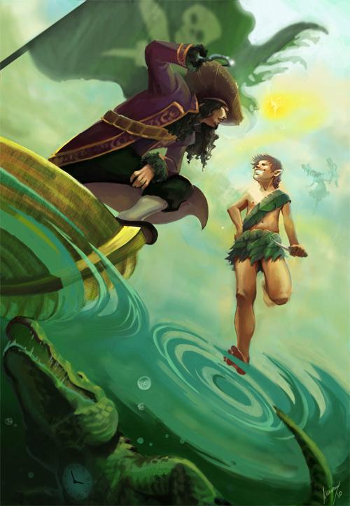 Peter Pan<br /> http://ivernalia.deviantart.com/art/Peter-Pan-163074257