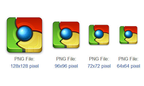 Chrome Icon<br /> http://www.iconarchive.com/show/app-icons-by-arrioch/chrome-icon.html