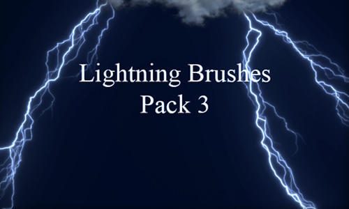 Lightning Brushes Pack 3<br /> http://kakefat.deviantart.com/art/Lightning-Brushes-Pack-3-173330372