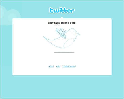 34个漂亮的404页面设计