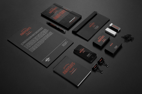 Away Days Branding Identity by Gumpita Rahayu