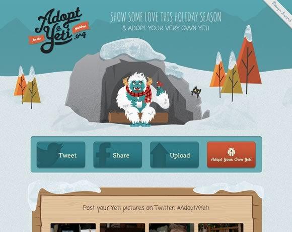 Adopt a Yeti<br /> http://adoptayeti.org/
