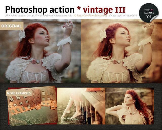 Photoshop Vintage Action III<br /> http://lieveheersbeestje.deviantart.com/art/Photoshop-vintage-action-III-321674847