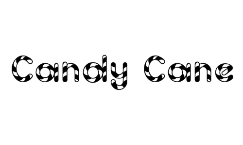 Candy Cane<br /> http://www.dafont.com/candy-cane.font