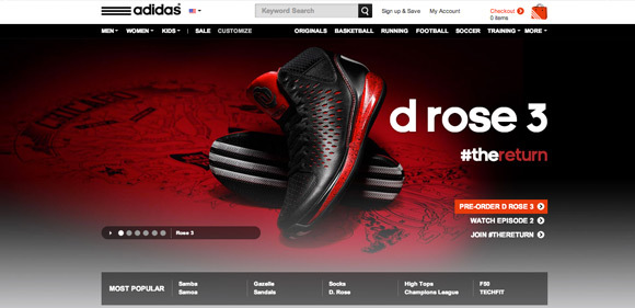 Adidas<br /> http://www.adidas.com/