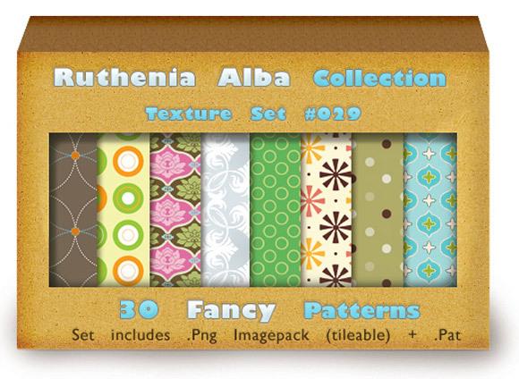 花哨的图案<br /> http://ruthenia-alba.deviantart.com/art/Txt-Set-29-Fancy-Patterns-167728477