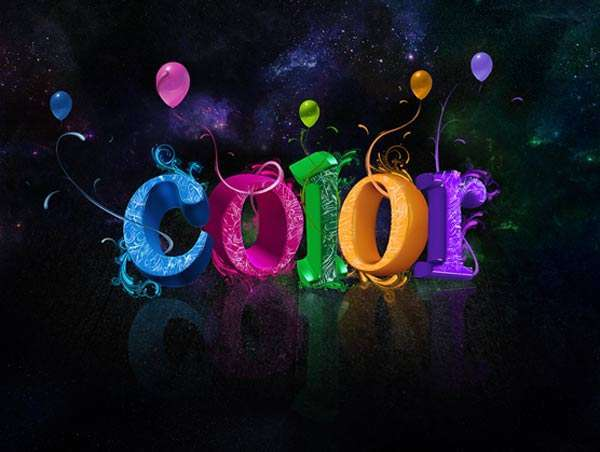 在photoshop中绘制一个带有立体效果的彩色文字<br /> http://www.psdeluxe.com/tutorials/text-effects-tutorials/create-colorful-3d-text-effect-in-photoshop/