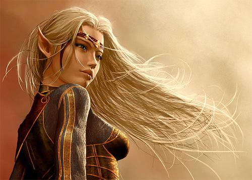 High Elf Female Avatar<br /> http://graysun-d.deviantart.com/art/High-Elf-Female-Avatar-251266936
