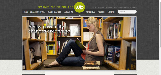 Warner Pacific College<br /> http://www.warnerpacific.edu/