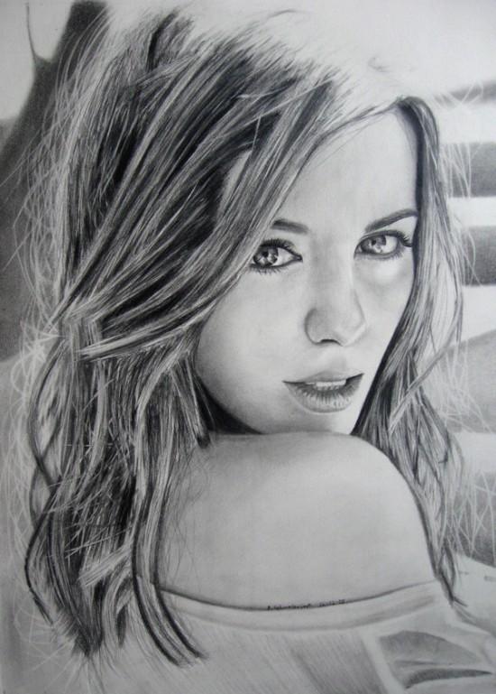 By DustyKnives<br /> http://dustyknives.deviantart.com/art/Kate-Beckinsale-Pencil-106132113