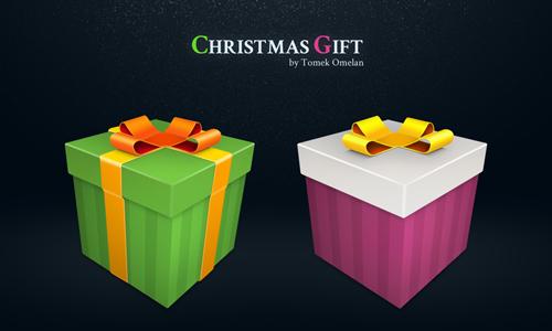 圣诞礼物<br /><br /> http://tomeqq.deviantart.com/art/Christmas-Gift-190013240