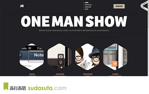 ONE MAN SHOW<br /> http://www.julienrenvoye.com/