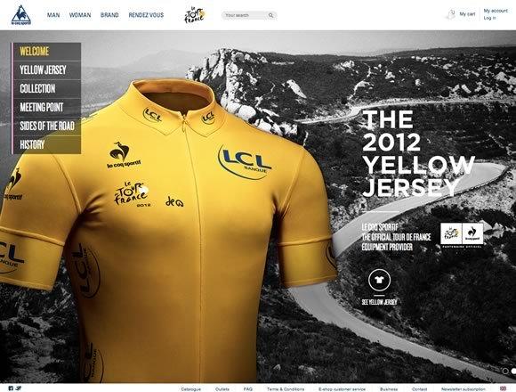 Le Coq Sportif & Le Tour de France 2012<br /> http://www.lecoqsportif.com/letour/uk-en#/accueil
