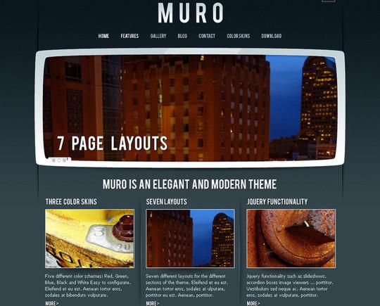 Demo:<br /> http://luiszuno.com/themes/muro/<br /> Download:<br /> http://luiszuno.com/blog/downloads/muro-template/