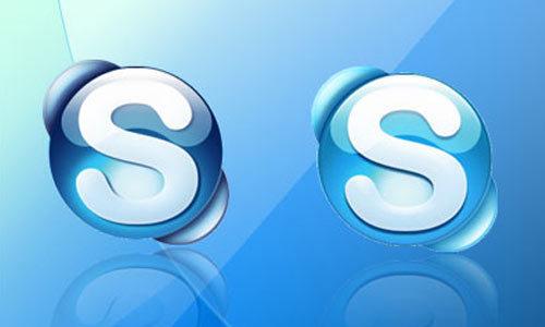Skype的图标<br /> http://stenoz72.deviantart.com/art/Skype-icons-84492323