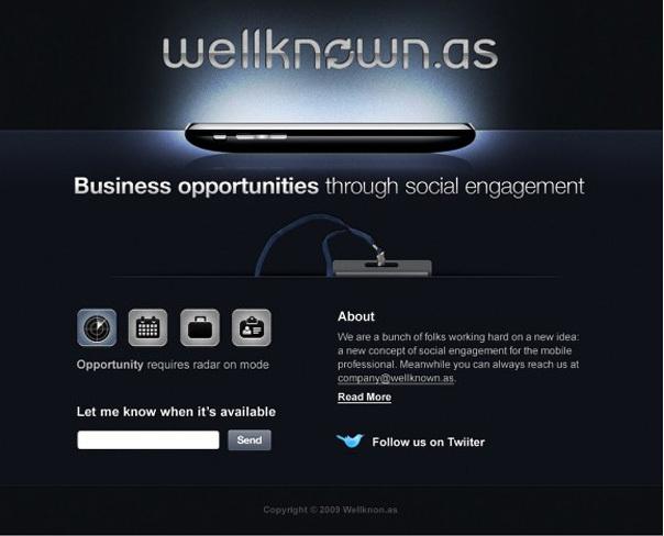 网站Wellknown.as 效果图绘制 http://abduzeedo.com/web-site-design-tutorial-wellknownas-case