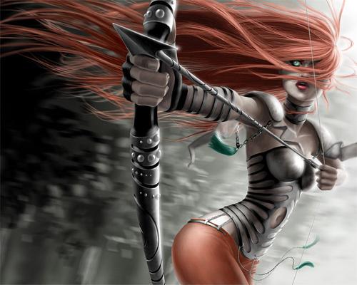 WALLPAPER弓箭手<br /> http://undinecg.deviantart.com/art/WALLPAPER-archer-123760323
