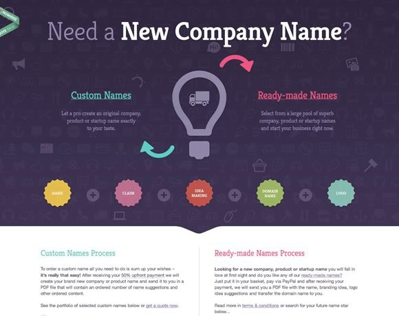 New Company Name<br /> http://www.newcompany.name/