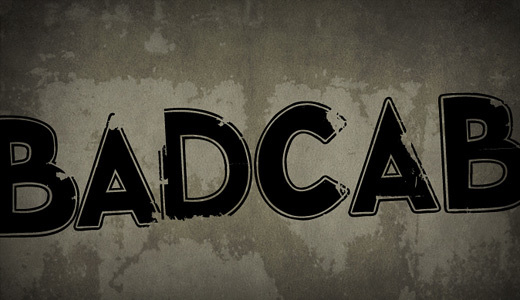 Badcab<br /> http://www.dafont.com/badcab.font