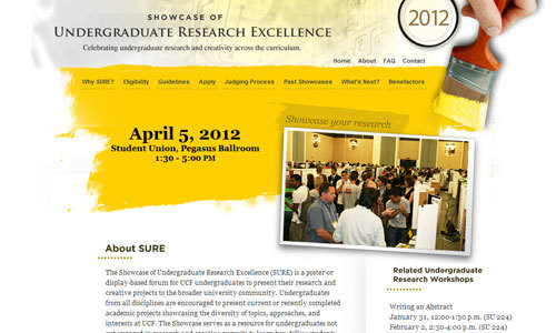 Showcase of Undergraduate Research Excellence<br /> https://showcase.ucf.edu/