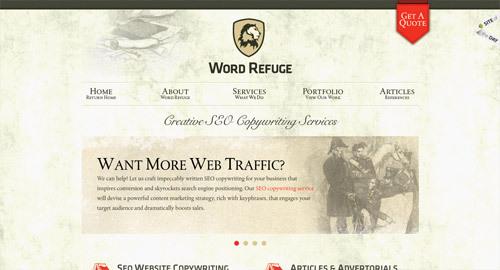 Word Refuge<br /> http://www.wordrefuge.com/