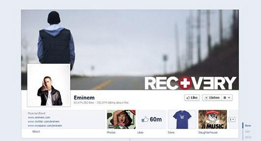 Eminem<br /> http://www.facebook.com/eminem