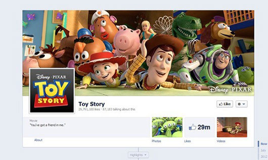 Toy Story<br /> http://www.facebook.com/PixarToyStory