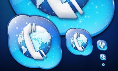 Skype图标<br /> http://psychopulse.deviantart.com/art/Skype-icon-116940607