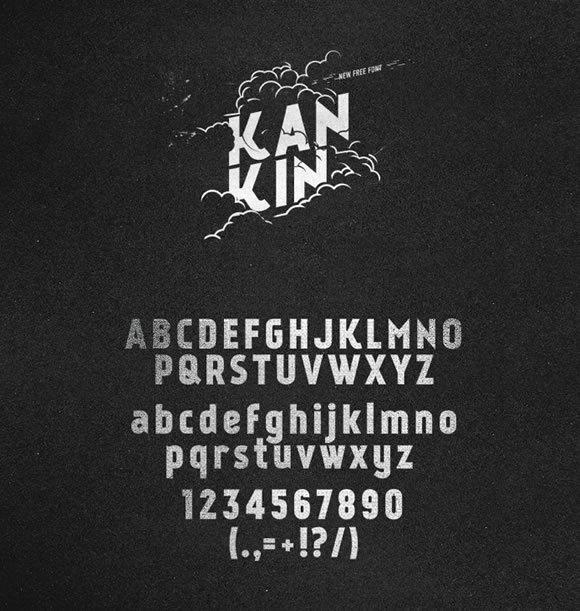 KanKin<br /> http://fontfabric.com/kankin-free-font/