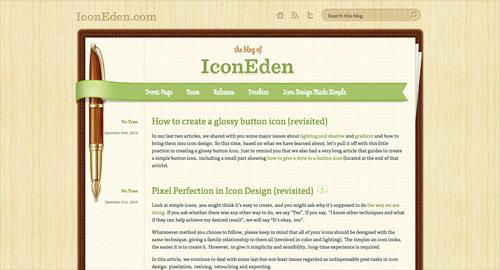 IconEden Blog<br /> http://www.iconeden.com/blog/