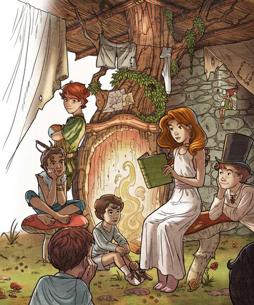 Peter pan_ part 2<br /> http://giacobino.deviantart.com/art/Peter-pan-part-2-110950641