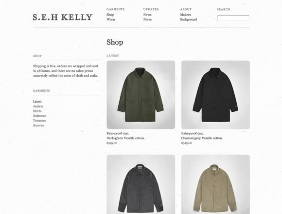 S.E.H. Kelly<br /> http://www.sehkelly.com/shop/