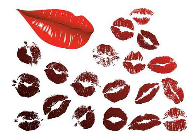 Lips Set<br /> http://www.freevector.com/lips-set/