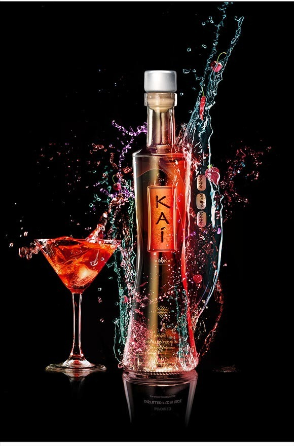 Vibrant Colorful Alcohol Product Ad<br /> http://design.creativefan.com/create-a-vibrant-colorful-alcohol-product-ad/