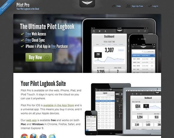 Pilot Pro<br /> 试点Pro是可用的网络,iPhone,iPad的,和iPod Touch上。停留在通过云同步,这样你就可以在任何地方使用它。<br /> http://pilotpro.com/