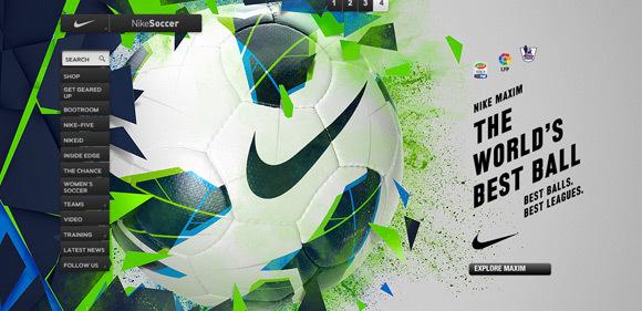 Nike Soccer<br /> http://www.nike.com/nikefootball/home/?locale=en_US